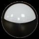 12W LED Полукръгло Тяло Външен Монтаж черно Тяло IP66 Неутрално Бяла Светлина