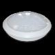 12W LED Кръгло Тяло Външен Монтаж Със Сензор Бяло Тяло IP66 Бяла Светлина