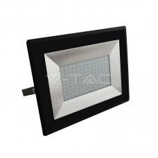 100W LED Прожектор Е-Series Черно Тяло Бяла Светлина