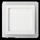 12W+3W LED Панел Външен монтаж - Квадратен Модул 4500K