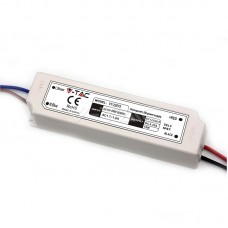 LED Захранване Slim Plastic - 75W 12V IP67