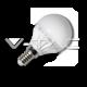 LED Крушка - 4W E14 P45 Бяла Светлина