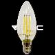 LED Крушка - 4W Filament  E14 Кендъл 2700K