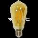 LED Крушка - 4W E27 Filament  ST64 2200K