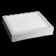 12W LED Панел Външен монтаж Premium - Квадратен Модул 4500К