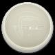 12W Плафониера Бяло Тяло 3000К IP65