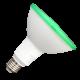LED Крушка - 15W PAR38 E27 IP65 Зелен